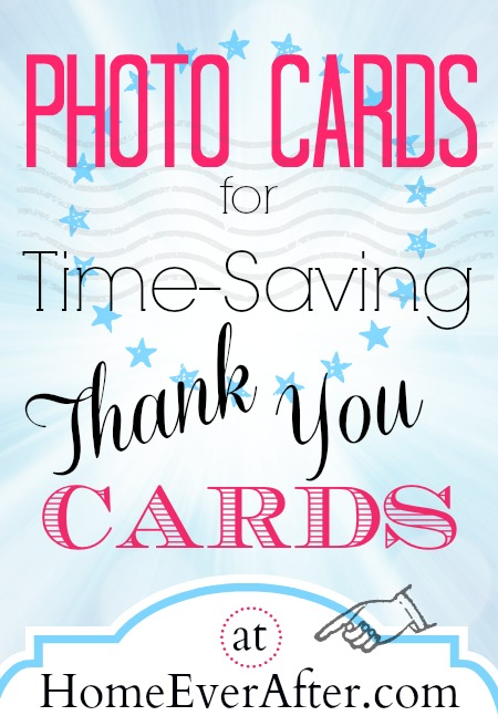 Photo Cards for Time Saving Thank You Cards