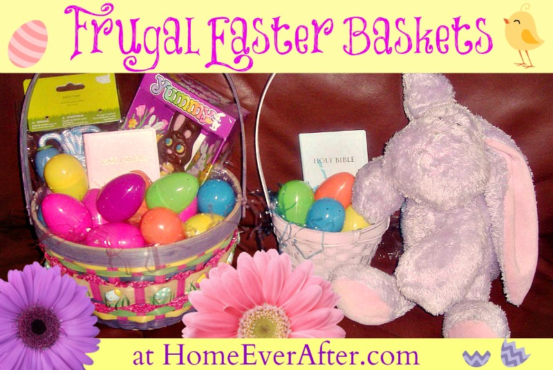 Frugal Easter Baskets Cover