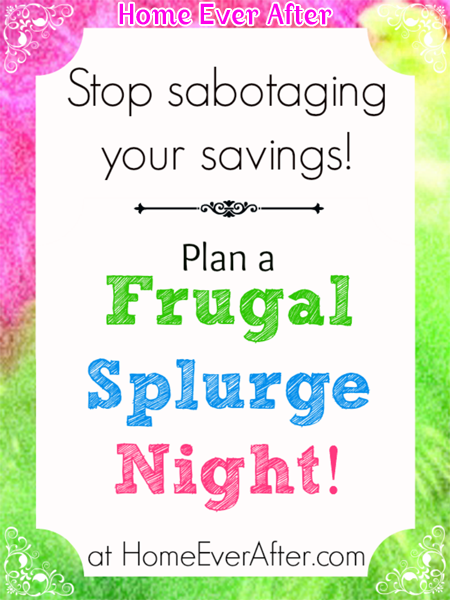 Frugal Splurge Night Cover