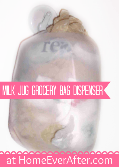 Milk Jug Grocery Bag Dispenser-HEA