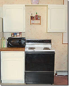 Before After Home DIY Kitchen Cabinet Painting