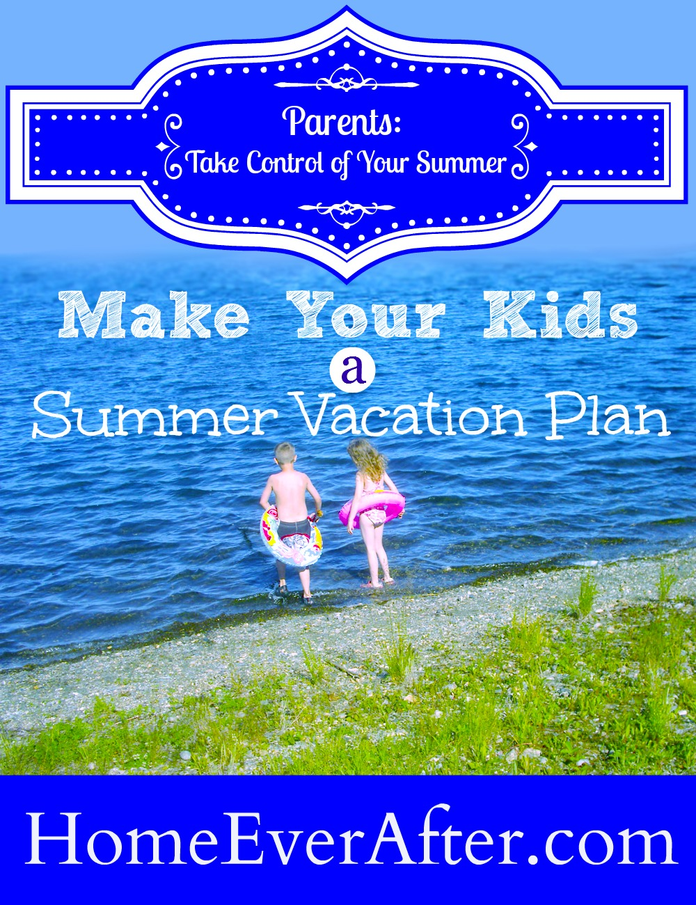 Make a Summer Vacation Plan Cover