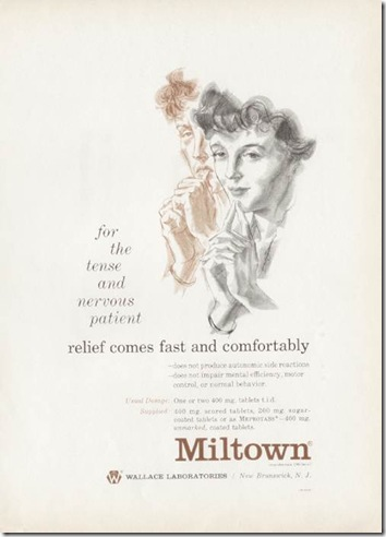 Miltown Homemakers Vintage Ad 1950