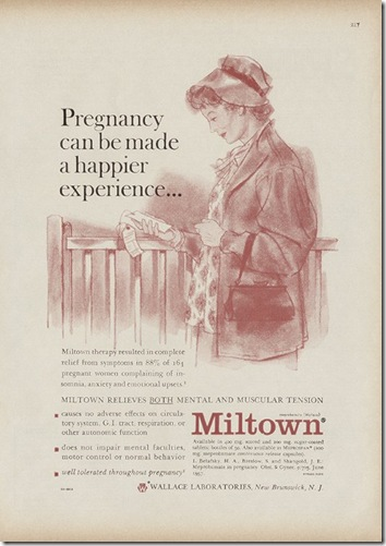 Miltown Pregnant Homemaker