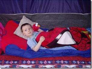 Truett Ice-Simmons camping