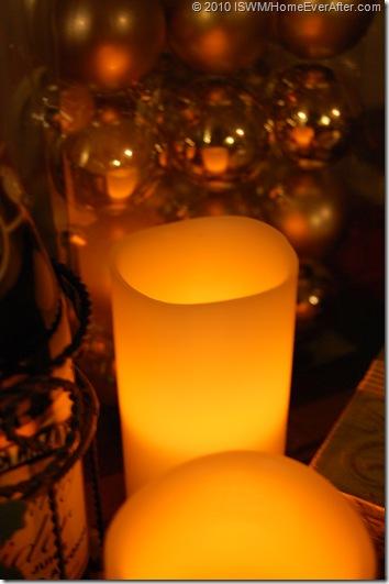 Christmas LED candles