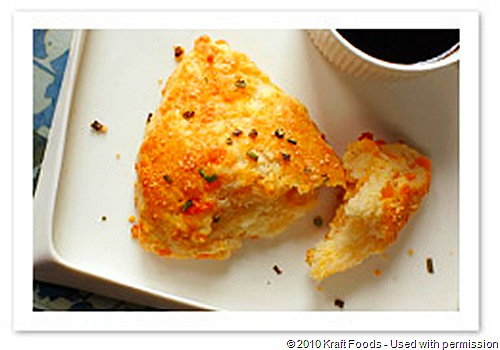 Cheddar and Sour Cream Scones Recipe