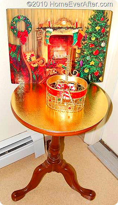 Home Ever After Christmas Home Decor Welcome Table