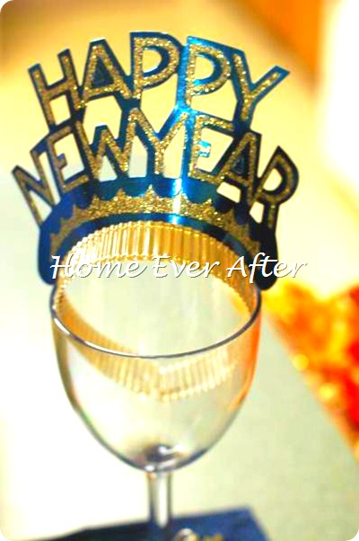Home Ever After New Years Tablescape 2011