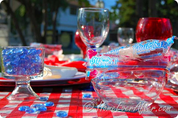 4th of July Tablescapes at HomeEverAfter.com