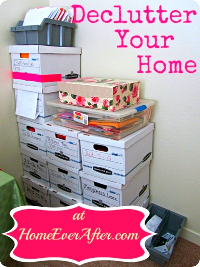 Declutter Your Home at Home Ever After