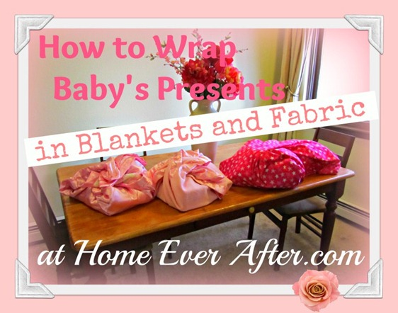 How to Wrap Baby's Blankets Cover-HEA