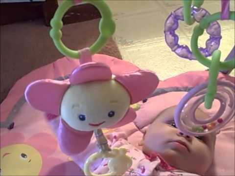 Must for Travel with Baby: Bright Starts Pretty in Pink Play Gym