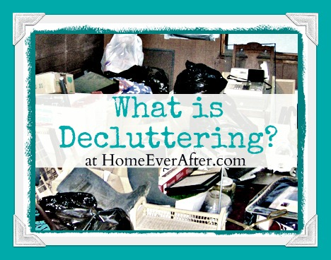 What is Decluttering Cover