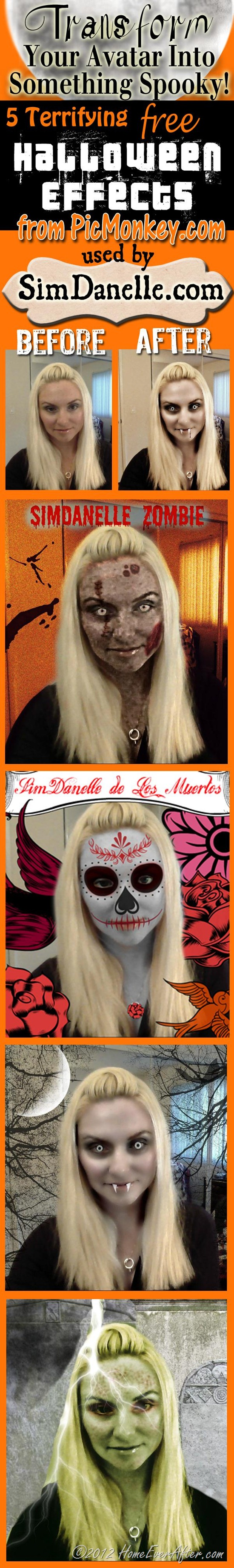 Danelle Ice SimDanelle Halloween Photo Effects Avatars