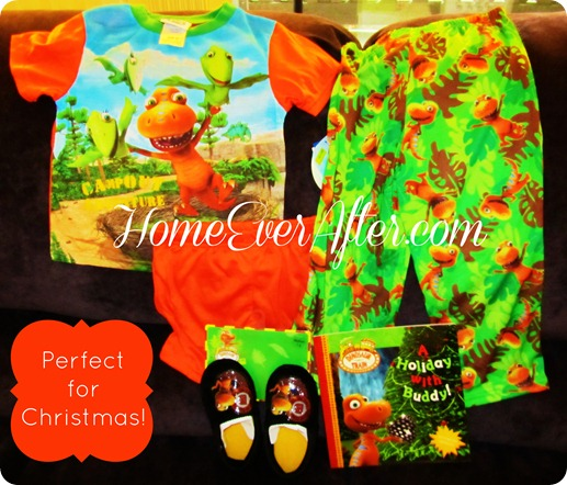 Dinosaur Train Holiday Pajamas Set