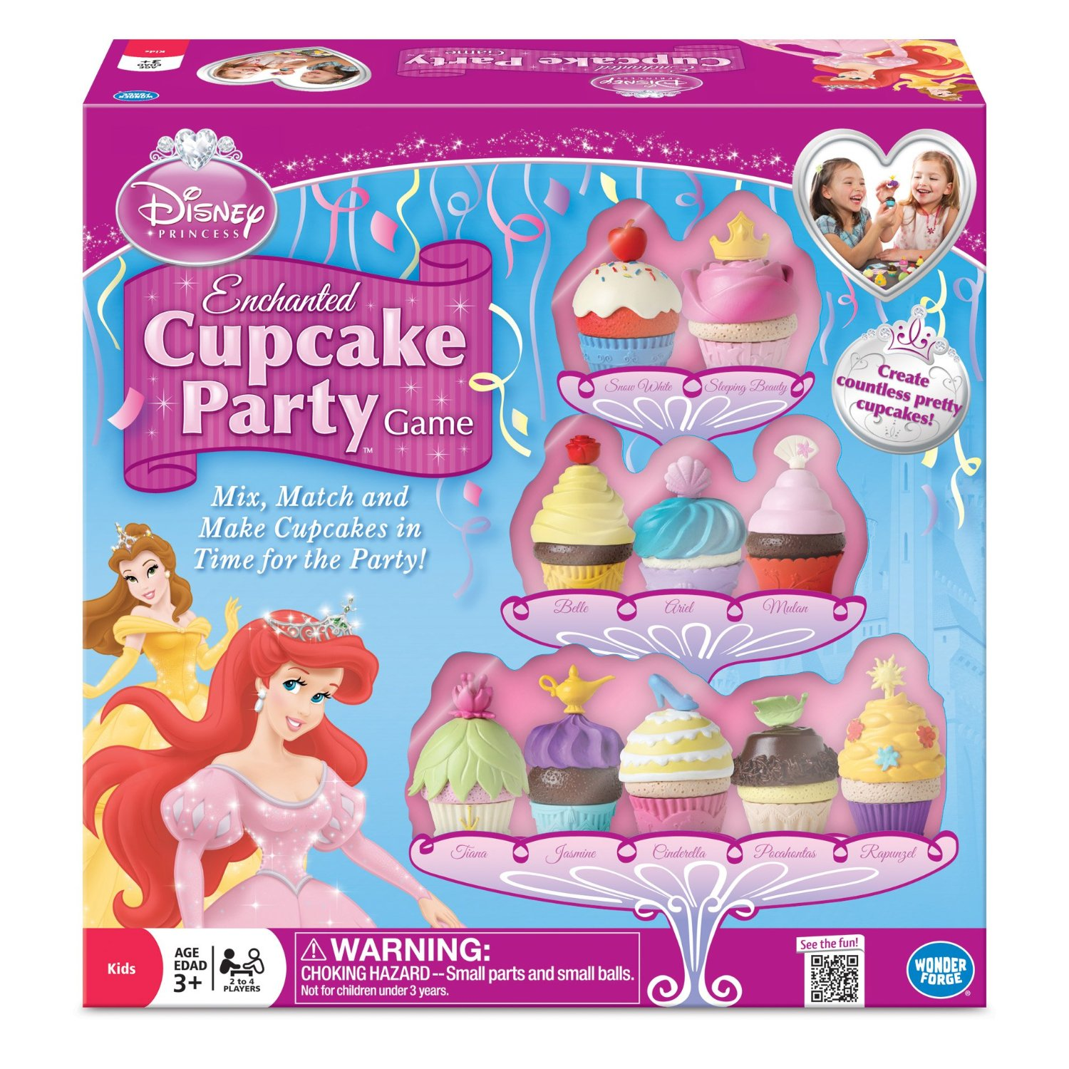 Disney Princess Enchanted Cupcake Party Game Review Home Ever After