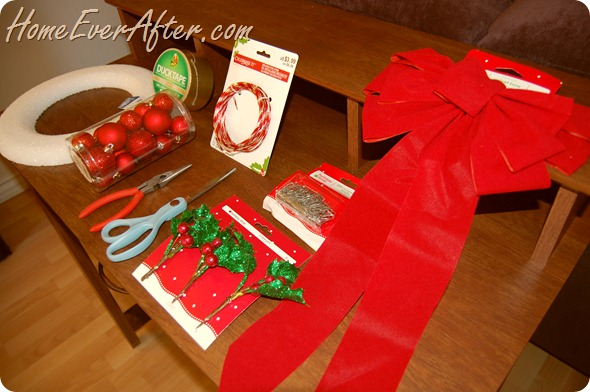 Duck Tape Christmas Wreath (2)