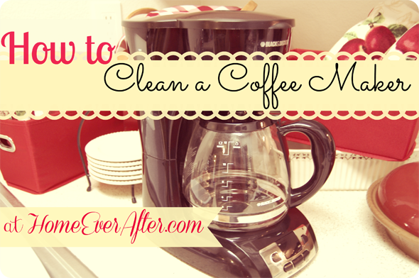 How to Clean a Coffee Pot at Home Ever After