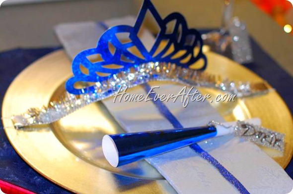 New Years Tablescape Home Ever After