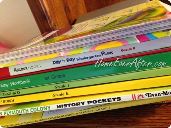 Homeschool Workbooks Stack-HEA