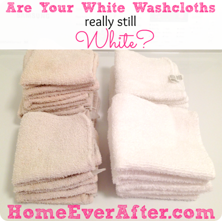 Are Your Washcloths Really Still White