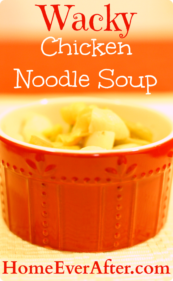 Wacky Chicken Noodle Soup Recipe
