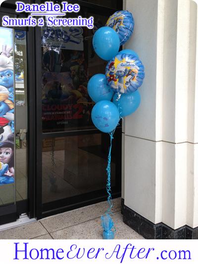 3 Smurfs 2 Danelle Ice Balloons