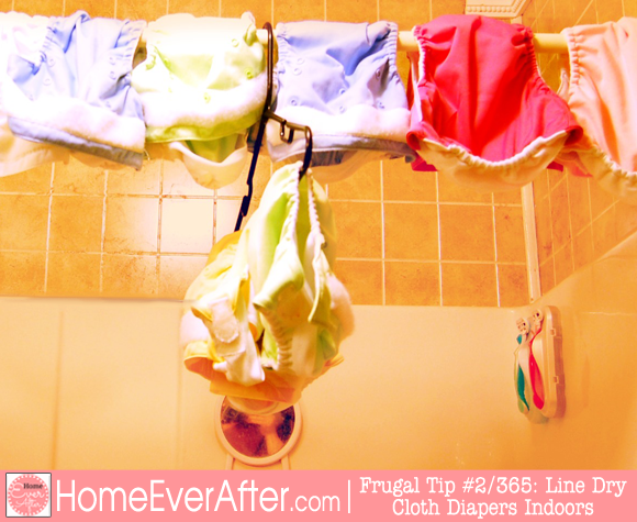 Frugal Tips 2 Cloth Diapers 1