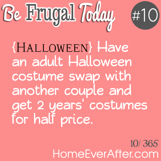 Be Frugal Today Tip 10 Costume Swap