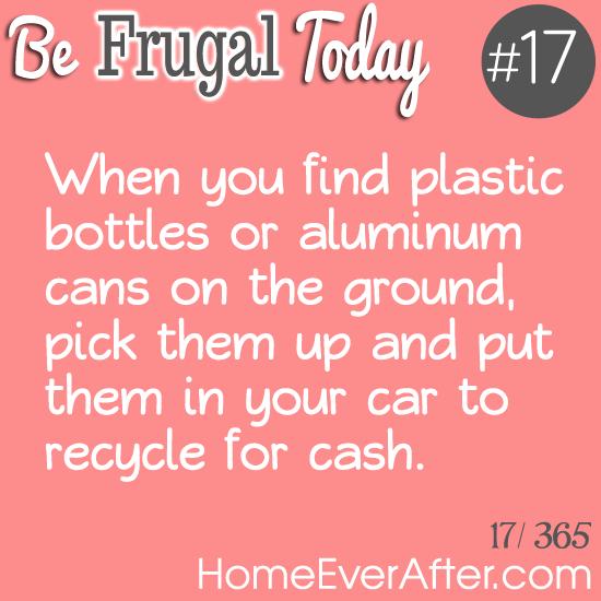 Be Frugal Today Tip 17 Plastic Bottles
