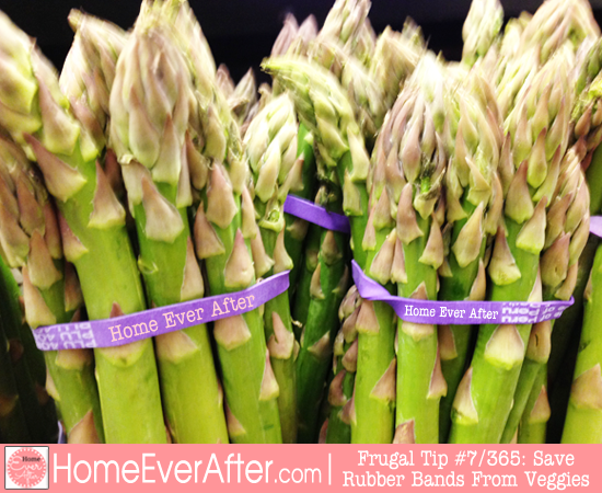 Save Rubber Bands From Asparagus Home Ever After