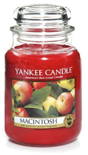 Yankee Candle Macintosh Jar Scented Candle at Amazon