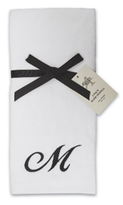 Buy monogrammed towels at Amazon