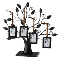 Family Tree With 4 Hanging Picture Frames at Amazon