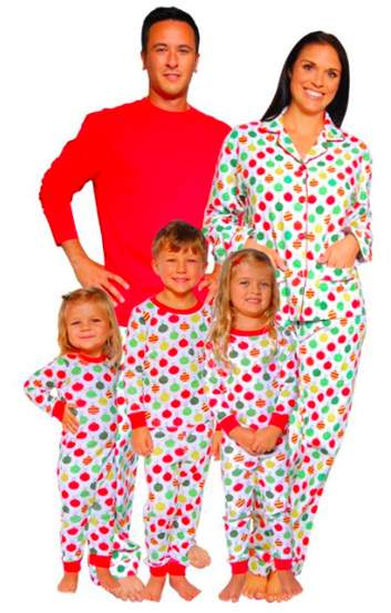 Matching Family Ornament Pajamas