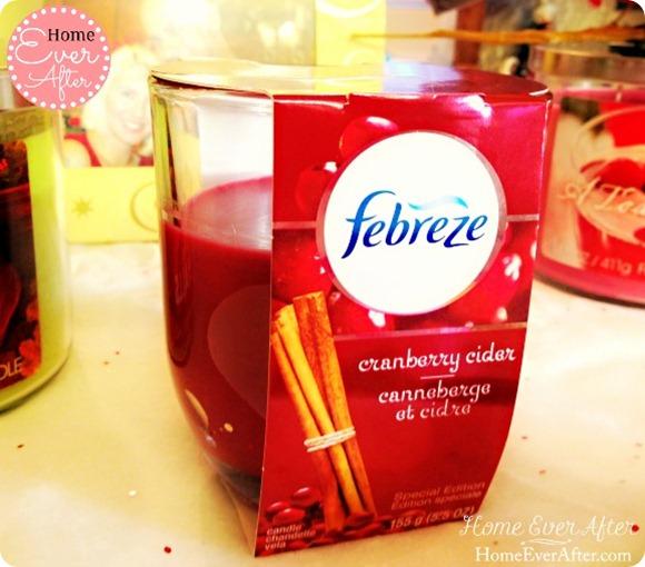 Febreze Cranberry Cider Candle