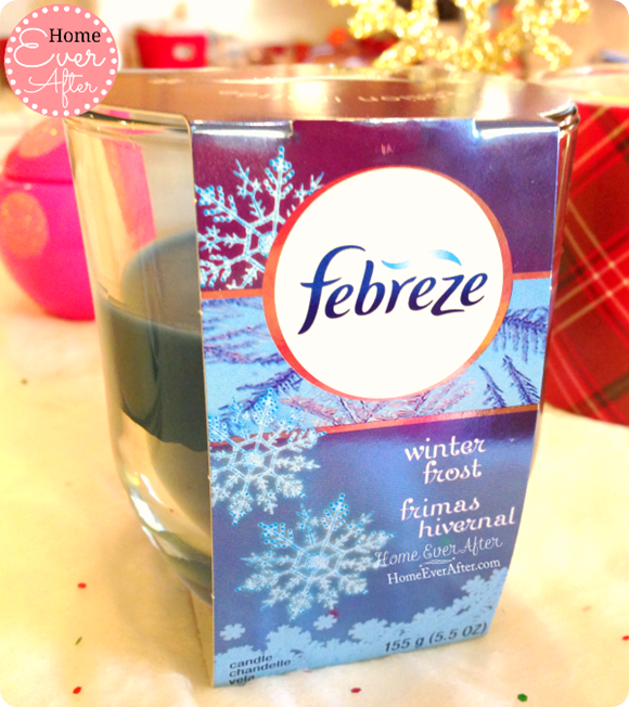 Febreze Winter Frost Candle