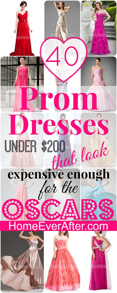 40 Prom Dresses Under $200 Oscars