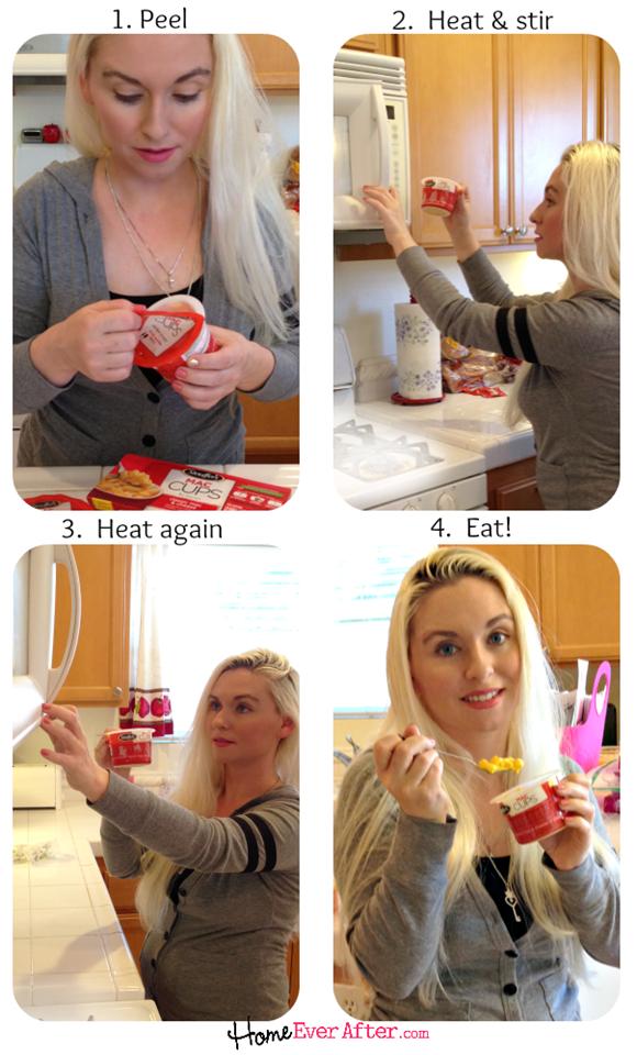 How to Prepare Stouffers Mac Cups #shop #MyGoodLife #cbias