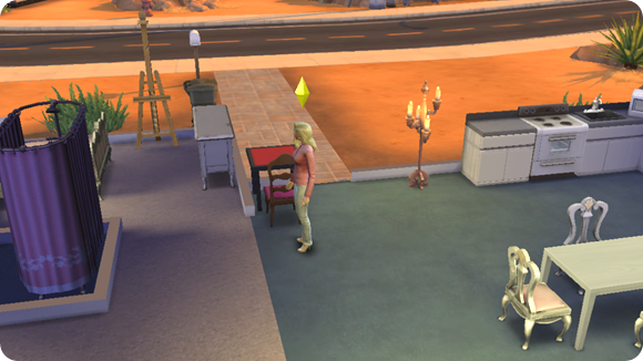 Sims 4 House #shop #TheSims4 #cbias