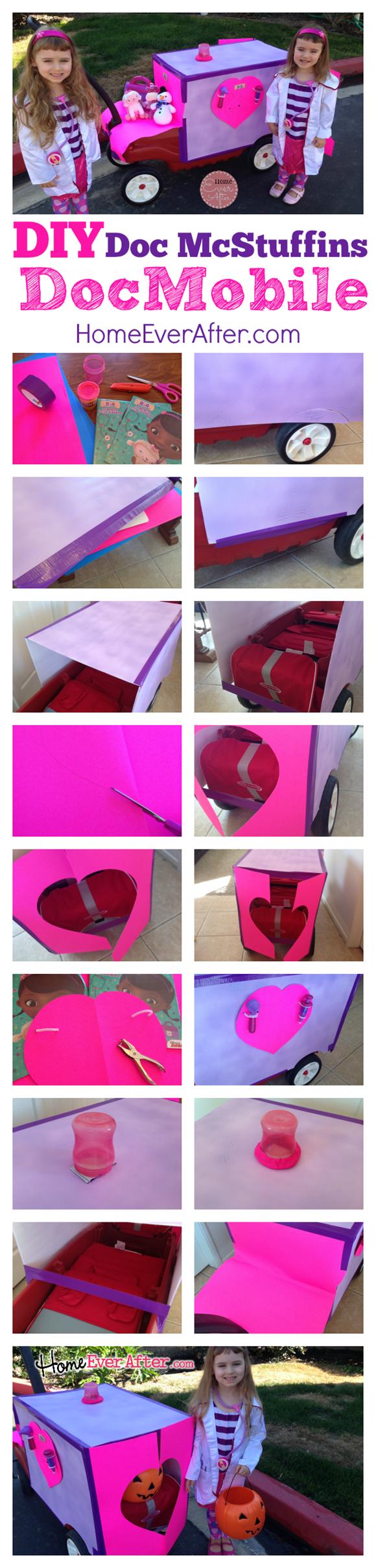 DIY- Doc McStuffins DocMobile Project Home Ever After #juniorcelebrates #cbias #shop