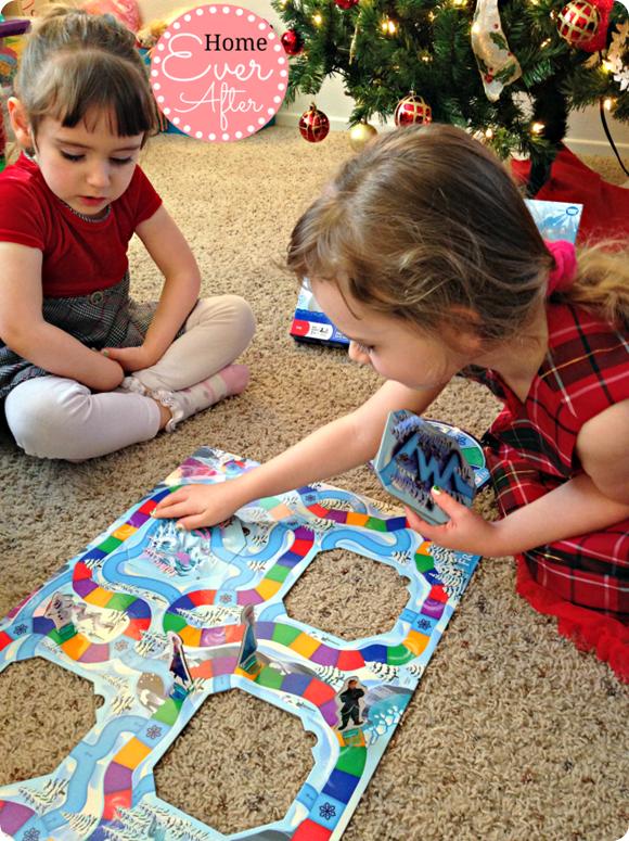 Disney Frozen Surprise Slides Game Girls Playing