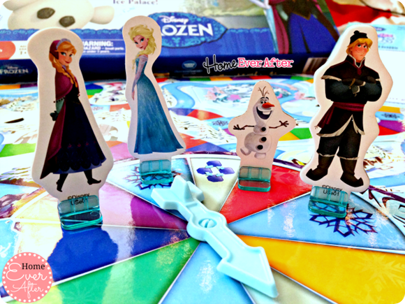 Disney Frozen Surprise Slides Game Pieces