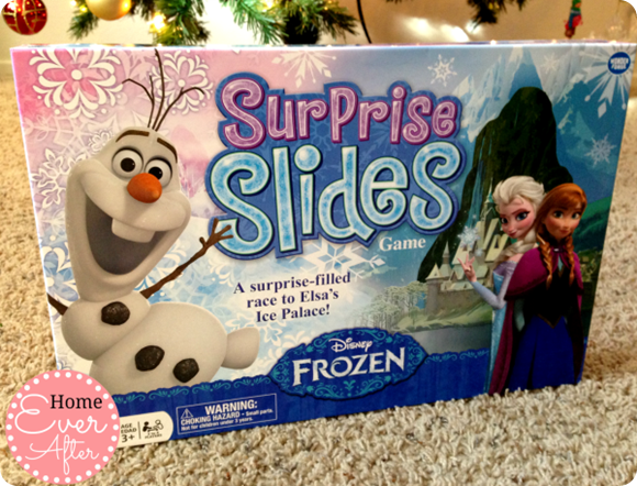 Disney Frozen Surprise Slides Game