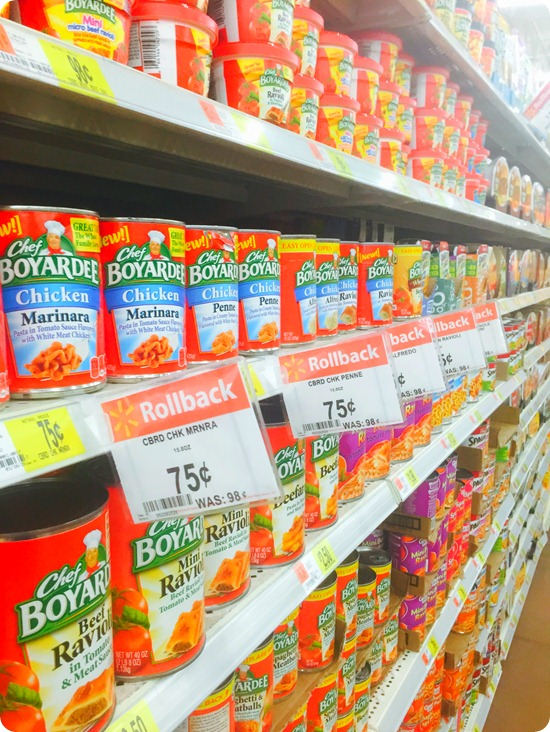 Chef-Boyardee-Rollback-Walmart #cbias #lowpricemeals #shop