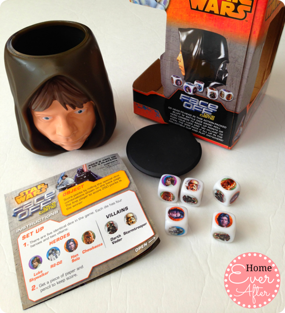 Star Wars Face Off Dice Game Pieces