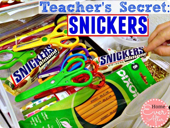 Teachers Secret Snickers
