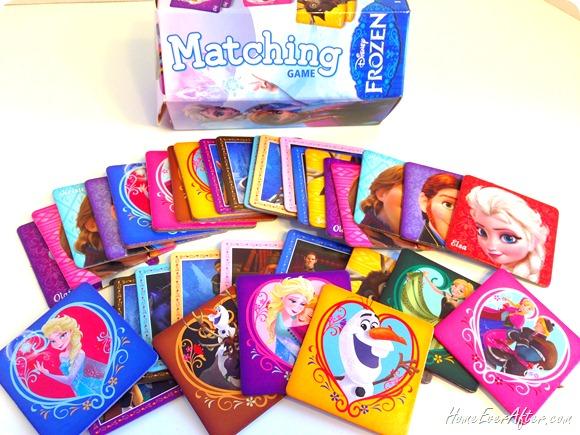 Disney Frozen Matching Game review